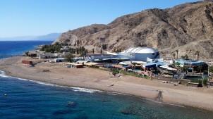 Eilat Red Sea underwater observatory
